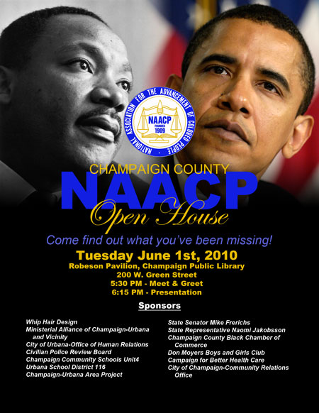NAACP Open House Flyer